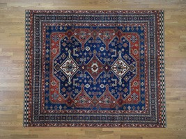 """8'4""""x9'9"""" Pure Wool HandKnotted Oriental Rug G42590 - $1,975.88"""