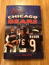 Steve McMichaels Tales from Chicago Bears Sideline Signed Auto HC Book - $49.49