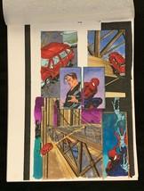 SPIDER-MAN Marvel original hand painted color guide art 1998 X-Man p.12 - $46.39
