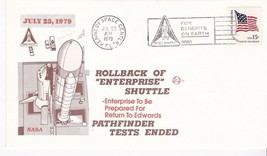 ROLLBACK OF ENTERPRISE SHUTTLE KENNEDY SPC CTR FLORIDA JUL 23 1979 SPACE... - $1.98