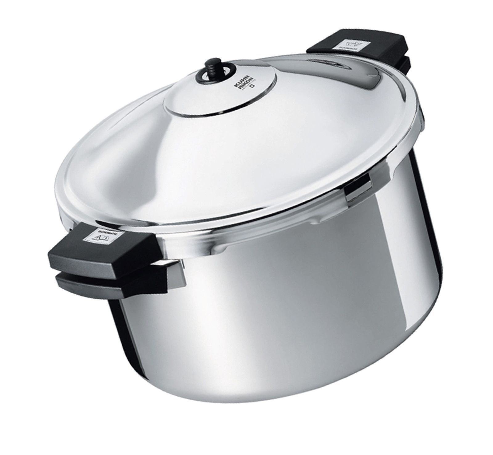 Kuhn Rikon Duromatic Hotel Stainless Steel Pressure Cooker with Side Grips, 8...