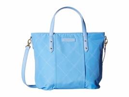 VERA BRADLEY Preppy Poly Satchel Purse Bag Tote Strap SKY BLUE Gift RCPT... - $53.55