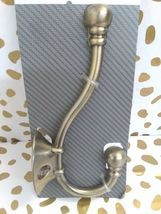 """Threshold Large Wall / Door - Hook Antique Brass Finish 5 3/4"""" -new in package- image 3"""