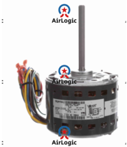 Genteq 1/3 HP OEM Replacement Motor, 1075 RPM, 4 Speed, 115 Volts, 48 Fr... - $156.41