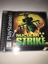 Nuclear Strike (Sony PlayStation 1, 1997) - $6.78
