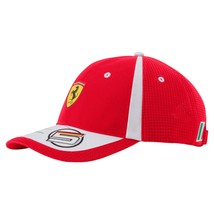 Puma Ferrari Men's Sebastian Vettel Adjustable Trucker Racing Cap Hat 02153701