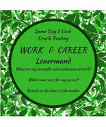 Same Day Oracle Reading - Work & Career - 5 Card Lenormand - $10.00
