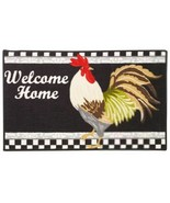 """KITCHEN ACCENT RUG (nonskid back) (17"""" x 28"""") ROOSTER WELCOME HOME by EE - $16.82"""