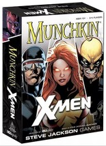 Munchkin Marvel X-Men Edition Card Game-Steve Jackson Games USAopoly -TO... - $10.00
