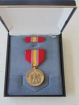Usmc Marine Corps & Fleet Marines Unissued Cased National Service Medal Set #1B - $28.70