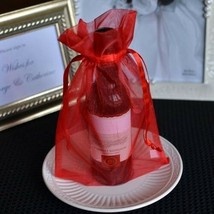 10x Large Red Organza Favor Pouches Wedding Gift Bags 6x9 inches - $9.62