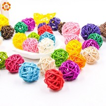 DIYHouse® 50pcs/lot 3cm Rattan Ball For Birthday Party Decor Wedding Decor - $6.64