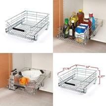 Seville Classics Pull-Out Sliding Commercial Grade Steel Wire Cabinet Dr... - $45.86