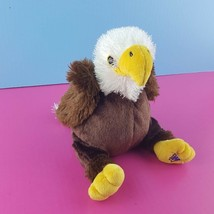 Webkinz Ganz American Bald Eagle Plush HM214 No Code Stuffed Animal Bird... - $12.86