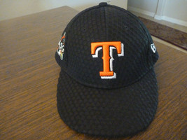 TEXAS RANGERS NEW ERA 59FIFTY 2017 ALL STAR GAME BLACK  FITTED HAT SIZE ... - $24.99