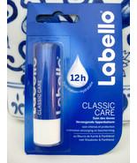 LABELLO Lip Balm Original Classic Care 12h Stick German Import Made In G... - $3.95