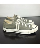 Converse All Star Gray Canvas Low Top Shoe Size 6  Women's - $18.81