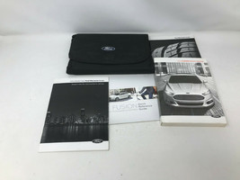 2014 Ford Fusion Owners Manual Handbook with Case OEM Z0A0678 - $41.57