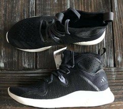 *NEW* Adidas Edgebounce Mid Running Sneaker Shoes Black Wmns 7.5 - $42.06