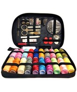 Sewing KIT Premium Repair Set - Over 100 Supplies and 24-Color Threads &... - $17.82
