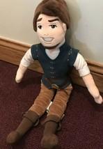 Disney Store Tangled Flynn Rider 21in Plush Stuffed Doll Female Male Her... - $14.95