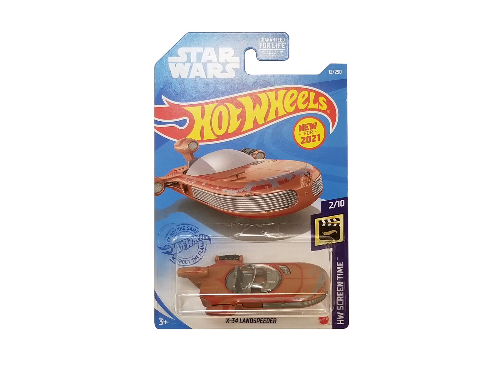 Hot Wheels 2021 Star Wars X-34 Landspeeder  #2/10 12/250 GRX16-M9C1A