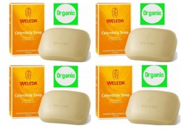 Weleda Calendula Soap 100g Organic Made In Germany x 4 Nos. - $34.68