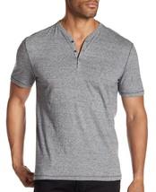 John Varvatos Star USA Men's Short Sleeve 3 Snap Henley Pullover Shirt M... - $1.106,06 MXN