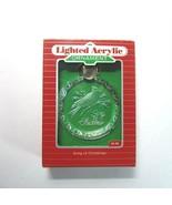 1988 Hallmark Keepsake Magic SONG OF CHRISTMAS Lighted Acrylic Ornament-... - $9.99