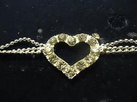 ARROW HEART BRACELET  (13553)   >> NEW JEWELRY  - $2.97
