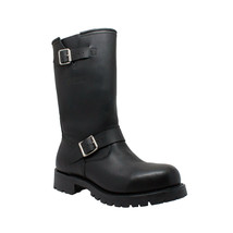 Mens Engineer Leather Riding Motorcycle Biker Boots SIZES 7 -14  Heavy D... - $79.95