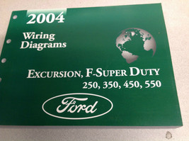 2004 Ford EXCURSION F-250 F350 F250 450 550 Wiring Electrical DIAGRAM Ma... - $89.10
