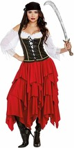 Dreamgirl Envoi Ahoy Pirate Fille Flibustière Adulte Femmes Halloween Costume - $51.80