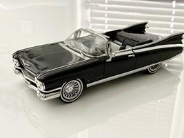 Jada Die Cast 1/24 1959 Cadillac El Dorado Convertible Black Car Model S... - $64.35