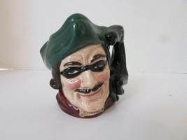 "Royal Doulton Character Toby Mug Creamer Dick Turpin 6535 England 4"" - $18.76"