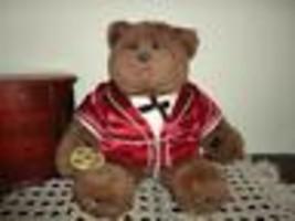 Gund Vintage 1983 Dennis Kyte Abiner Smoothie Bear 19in - $175.43