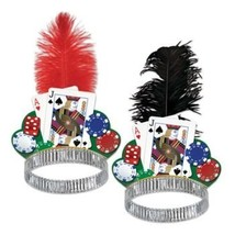 Casino Night Tiara Party Accessory, 1 PACK ASSORTED - £7.16 GBP