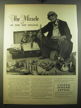 1950 United Jewish Appeal Ad - The miracle of the toy seller - $14.99