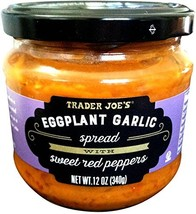 Trader Joe's Eggplant Garlic Spread with Sweet Red Peppers