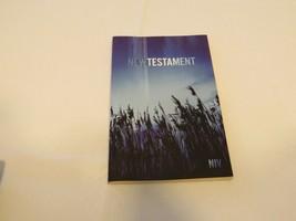 Niv Outreach Nuovo Testament Blu Grano Cover Biblica Bibbia Zondervan Libro - $8.53