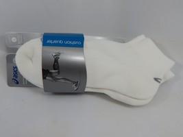 Asics Cusion Quarter 3 Pairs of Large L Socks Size 9.5-11.5 Men & 10+ Women