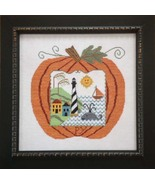 Great Pumpkin Seaside cross stitch chart Sample... - $14.40