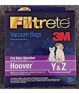 Hoover WindTunnel Type Y WindTunnel Vacuum Bag Y ( 3 Pack) 4010100Y Type... - $5.58