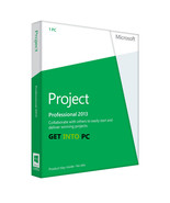 Microsoft Project Professional 2013 Product Key & Software Download Link - $35.00