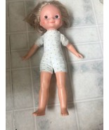 Vintage 1978 Fisher Price My Friend Doll MANDY 211 Short Blond Hair  - $14.89
