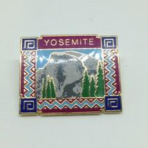 Vintage YOSEMITE LAPEL PIN Enamel Gold Tone Hat Tie Tac Jewelry SALE - $4.85