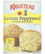 Krusteaz Lemon Poppyseed Muffin Mix, 17 oz - $6.49