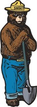 Smokey the Bear Prevent Forest Fires Plasma Metal Sign - $49.95