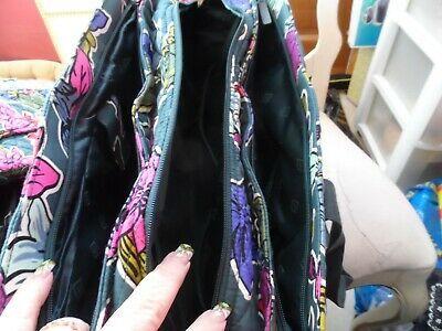 Vera Bradley TRiple compartment travel bag pattern in Falling Flowers image 5