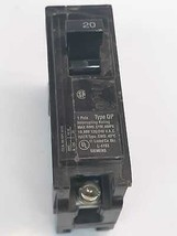 General Electric 20 Amp Circuit Breakers QP 1Pole - $23.28